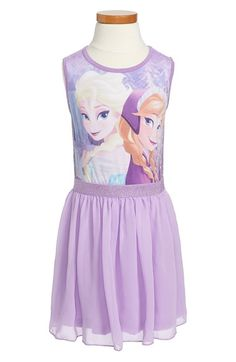 Mighty Fine 'Disney's Frozen' Sleeveless Dress (Toddler Girls, Little Girls & Big Girls) available at #Nordstrom