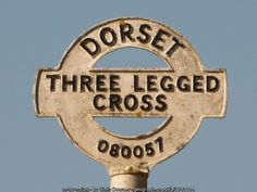 Three Legged Cross: signpost detail (C) Chris Downer :: Geograph Britain and Ireland