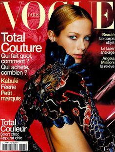 Carolyn Murphy by Mario Testino Vogue Paris March 1998