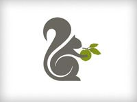 Squirrel Logo - Rebound