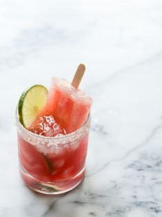 Salted Watermelon Margarita Popsicles | 25 Unusual Margarita Recipes That Will Get You Tipsy AF
