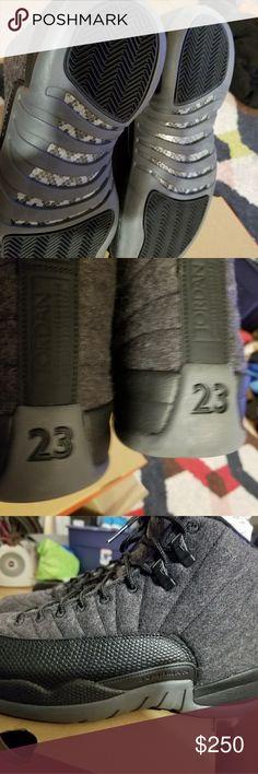 Nike air jordan 12 grey sz.9 100% authentic Ds Shoes Sneakers
