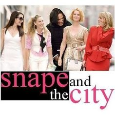 SATC and Harry Potter, what could be better?