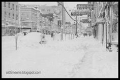 Erie PA Snowfall Records | Thanksgiving 1956 Snowstorm on State Street in Erie, Pa. Photo ...