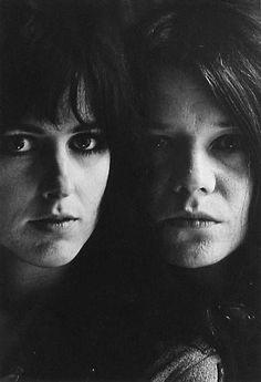 Grace Slick & Janis Joplin (San Francisco, 1967), by Jim Marshall