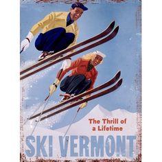 iSKI SKI-ING VINYL STICKER Sports Themed Sticker 25 cm x 7 cm