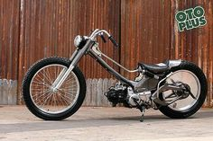 Bobber Bikes, Bobber Chopper, Honda Motorcycles, Vintage Motorcycles, Custom Motorcycles, Custom Bikes, Honda Cub, Puch Maxi S, Diy Go Kart