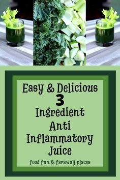 Just 3 ingredients for this anti-inflammatory juice! Take care of yourself naturally! Daniel Fast Breakfast, Daniel Fast Recipes, Healthy Juice Recipes, My Best Recipe, I Am Awesome, Remedies, Herbs, Breakfast Ideas, Easy