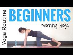 10 minute Morning Yoga for Beginners - YouTube