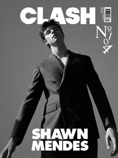 Shawn Mendes on the cover of Clash magazine. Kids In Love, Mendes Army, Latest Pics, To My Future Husband, My Sunshine, My Boys, At Least, Singer, Guys