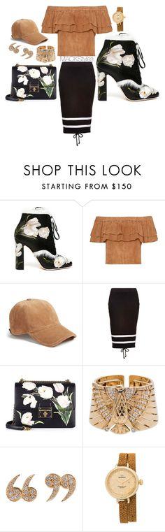 """Venice Tulip."" by jevonmack ❤ liked on Polyvore featuring Dolce&Gabbana, rag & bone, Puma, Cartier, Love Is, Shinola, men's fashion and menswear"