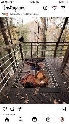 Outdoor Furniture, Outdoor Decor, Glamping, Railroad Tracks, Hammock, Cabin, Blue Prints, Inspiration, Home