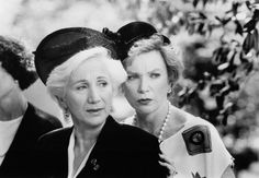"""Clairee and Ouiser. Olympia Dukakis and Shirley Maclaine were magnificent in """"Steel Magnolias"""". michele_weitz"""