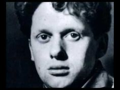 """Dylan Thomas reads """"Poem In October"""" and """"In My Craft or Sullen Art"""" - 1949 Columbia LP Poem In October, Dylan Thomas, Best Poems, Inspirational Poems, Wales Uk, Counselling, Three Kids, Lp, Writers"""