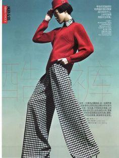 9a7430a5cd0 Vogue China - Smart Pants - Tian Yi Vogue China