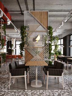Emphāsis on behance. emphāsis on behance cafe interior design Restaurant Interior Design, Office Interior Design, Office Interiors, Restaurant Interiors, Design Café, Cafe Design, House Design, Design Elements, Blog Design