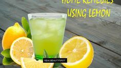 Home remedies using lemon - menstrual cramps, sore throat, and headache.