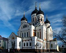 Alexander Nevsky Cathedral on Toompea Hill #Estonia #April