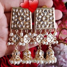🌟 To buy this dm or whatsapp Indian Earrings, Bracelets, Stuff To Buy, Accessories, Jewelry, Fashion, Moda, Jewels, Fashion Styles
