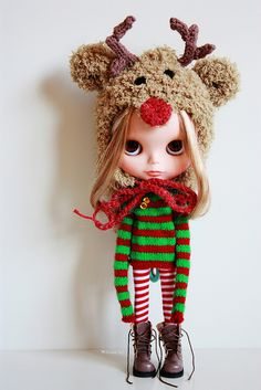 "Blythe: ""Mom why do I have to wear this stupid outfit. Doll owner: ""Because your so cute!!!"""