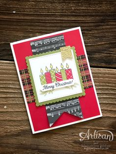 Welcome to a very special edition of the Artisan Design Team Blog Hop!  Today we get to share an exclusive host stamp set called Merr...