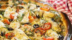 Artischocken-Tomaten-Olivenpizza - ZDFmediathek