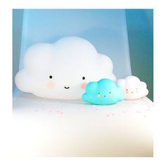 L.E.D. Light . Mini Cloud - Blue