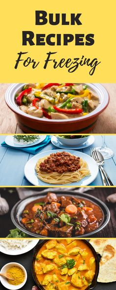 Anything that makes my life easier is a winner and these great bulk recipes for freezing are right at the top of my list for saving time, effort & money!   #BulkRecipes #MealPlanning #FreezerMeals #FreezingMeals #FrozenMeals #Recipes #RecipesForFreezing Easy Toddler Meals, Healthy Meals For Kids, Healthy Choices, Kids Meals, Healthy Recipes, Healthy Food, Clean Eating Diet Plan, Clean Eating Recipes, Great Recipes