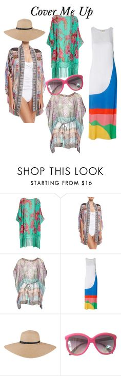 Cover me Up by friedlander on Polyvore featuring Matthew Williamson, Camilla and Mara Hoffman