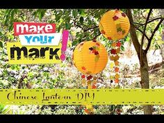 #papercraft #party or #homedecor lanterns How to: Paper Lantern Party Balls DIY from Mark Montano