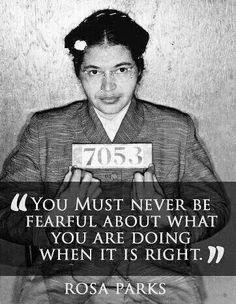 Hero - Rosa Parks