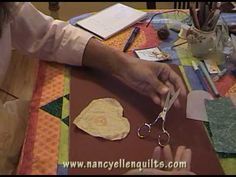 ▶ How To Hand Applique - Part One - YouTube