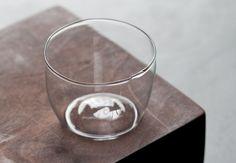 pair of gelato bowls / Malfatti Glass