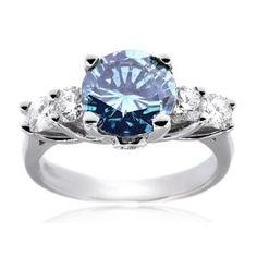 Stunning blue diamond