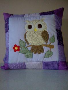 Owl Crochet Patterns, Quilt Block Patterns, Quilt Blocks, Burlap Pillows, Baby Pillows, Decorative Pillows, Cushion Cover Pattern, Applique Cushions, Diy Pillow Covers