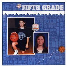 Reminisce School Album Fifth Grade