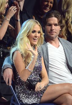 mike fisher and carrie underwood | Carrie Underwood and Mike Fisher Photos - 2012 CMT Music Awards - Show ...