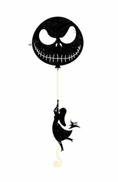 The Nightmare Before Christmas Balloon