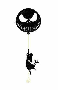 The Nightmare Before Christmas Balloon