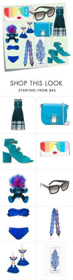 """ultimate fashion"" by denisee-denisee ❤ liked on Polyvore featuring Post-It, Jonathan Simkhai, Versus, Laurence Dacade, Alice + Olivia, Burberry, Yves Saint Laurent, Fendi, Shashi and Manduka"