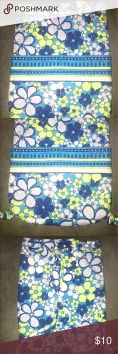 Cute Vera Bradley mini backpack green and blue!! Cute Vera Bradley mini backpack green and blue!! Good Condition!! Vera Bradley Bags Backpacks