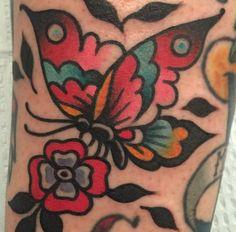 Tattoos that look like tattoos. Traditional Tattoo Filler, Traditional Butterfly Tattoo, Traditional Owl Tattoos, Moth Tattoo, Bee Tattoo, Lady Bug Tattoo, Sailor Jerry Tattoos, American Traditional, Traditional Flash