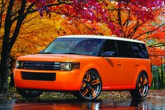 Orange Spice 2009 Ford Flex by Galpin Auto Sports in Van Nuys CA . Click to view more photos and mod info.