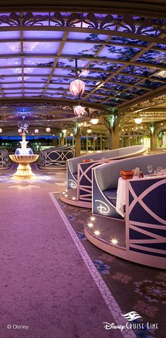 Enchanted Garden | Disney Dream & Disney Fantasy