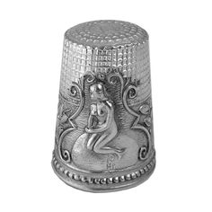 This Sterling Silver Mermaid Thimble is finely crafted to the highest ...