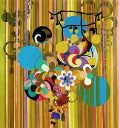 Sul da América - Beatriz Milhazes   # Pin++ for Pinterest #