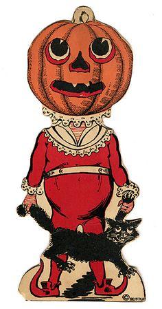 Vintage Halloween JOL
