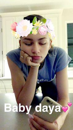 Zendaya on Deja's snapchat 8/21/16
