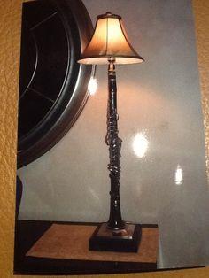 Clarinet lamp
