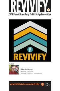 REVIVIFY T-Shirt Contest Entry #9  See more here: https://www.facebook.com/media/set/?set=a.584764198243534.1073741826.220143218038969&type=1  #promotionalproducts #advertisingspecialties #ppaiexpo #design #graphicdesign #branding